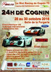 Affiche 24h cognin 2016