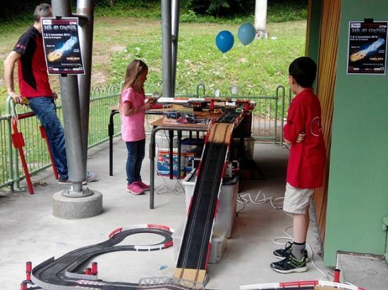 Fete enfance Cognin 2014 Slot Racing